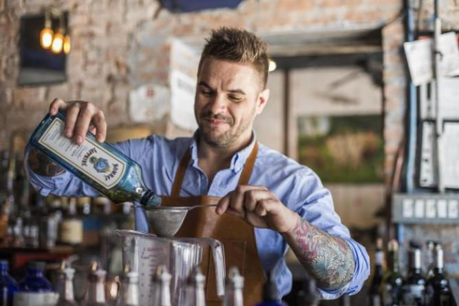 hire a bartender at home